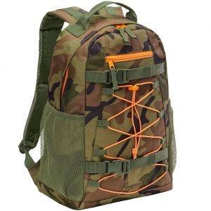 Brandit Urban Cruiser Backpack Woodland / Orange