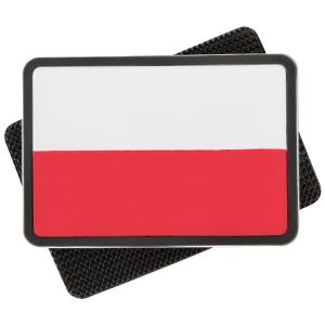 Helikon Polish Subdued Flag Patch White/Red Set of 2