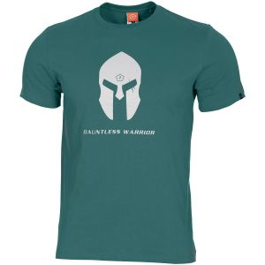 Pentagon Ageron T-Shirt Spartan Helmet Petrol Blue