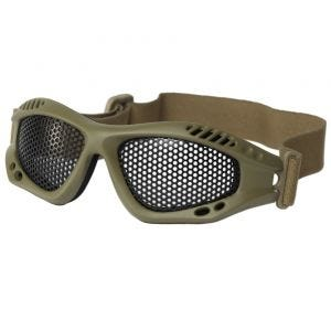 Mil-Tec Tactical Metal Wire Goggles Coyote