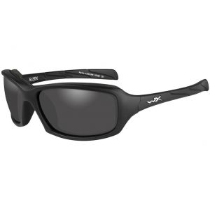 Wiley X WX Sleek Glasses - Smoke Grey Lens / Matte Black Frame