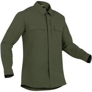 First Tactical Men's Specialist Long Sleeve BDU Shirt OD Green