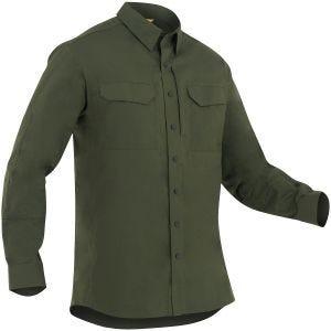 First Tactical Men's Specialist Long Sleeve Tactical Shirt OD Green