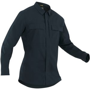 First Tactical Men's Tactix Long Sleeve BDU Shirt Midnight Navy