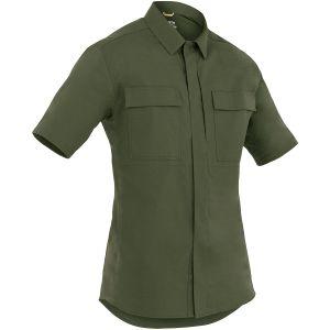 First Tactical Men's Tactix Short Sleeve BDU Shirt OD Green