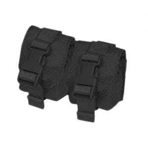Flyye Double Fragmentation Grenade Pouch Black