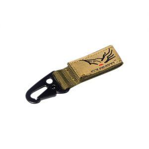 Flyye Key Chain Coyote Brown