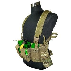 Flyye LBT M4 Tactical Chest Vest MultiCam