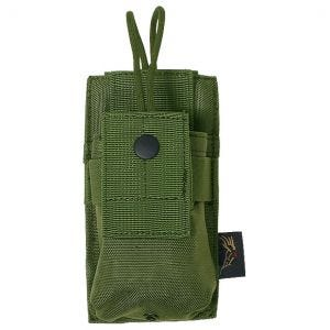 Flyye Short Radio Pouch MOLLE Olive Drab