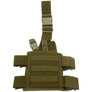 Flyye SpecOps Seals Drop Leg Holster MOLLE Coyote Brown
