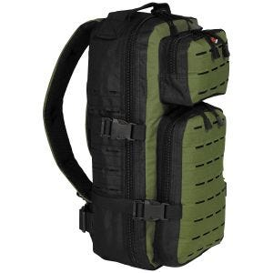 Fox Outdoor Assault-Travel Backpack Black / OD Green