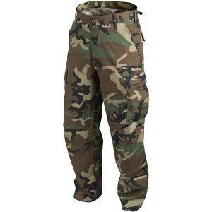 Helikon BDU Trousers Cotton Ripstop US Woodland