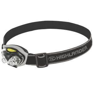 Highlander Spark 4+2 LED Head Torch Black / Silver