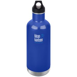 Klean Kanteen 946ml Classic Insulated Bottle Loop Cap Coastal Waters