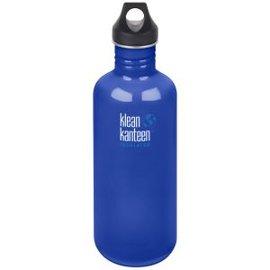 Klean Kanteen Classic 1182ml Bottle with Loop Cap Coastal Waters