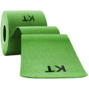 "KT Tape Consumer Cotton Original Precut 10"" Lime"