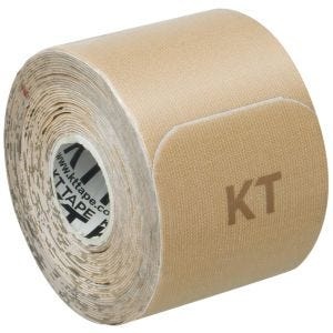 "KT Tape Consumer Cotton Original Gentle Precut 10"" Beige"