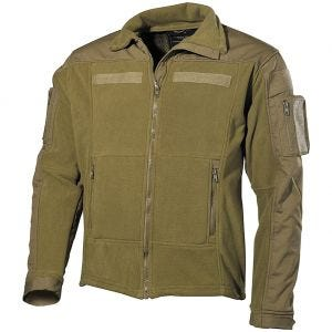 MFH US Combat Fleece Jacket Coyote