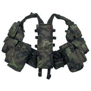 MFH South African Assault Vest Czech Woodland