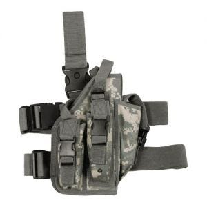 MFH Leg Holster with 3 Mag Pouches ACU Digital