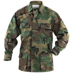 Mil-Tec BDU Combat Shirt Woodland