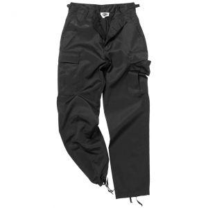 Mil-Tec BDU Ranger Combat Trousers Black