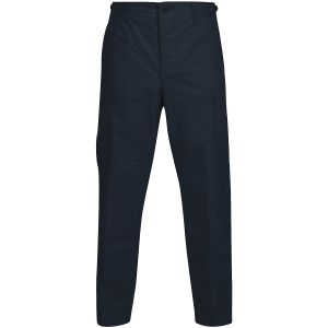 Propper BDU Trousers Button Fly Polycotton Ripstop Dark Navy