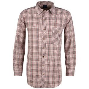 Propper Covert Button-Up Long Sleeve Shirt Barn Red Plaid