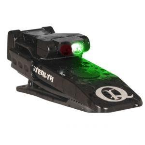 QuiqLite Stealth IR / NVG Green LED Flashlight