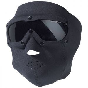Swiss Eye SWAT Mask Pro with Ballistic Goggles Black