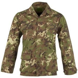 Teesar BDU Shirt Ripstop Vegetato Woodland