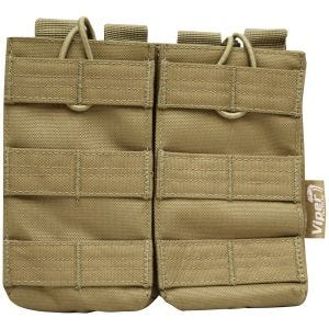 Viper Quick Release Double Mag Pouch Coyote