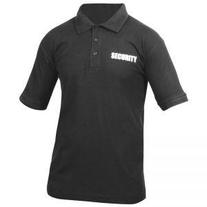 Viper Security Polo Shirt Black