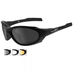 Wiley X XL-1 Advanced - Smoke Grey + Clear + Light Rust Lens / Matte Black