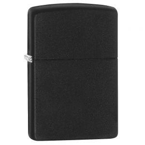 Zippo Matte Black Regular Lighter