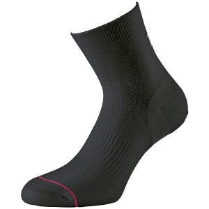 1000 Mile Ultimate Tactel Anklet Sock Black