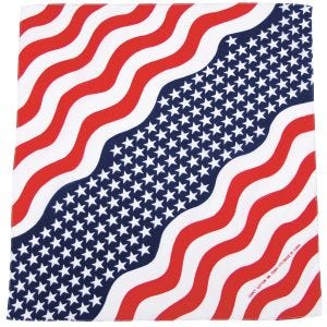 MFH Bandana Cotton Stars and Stripes