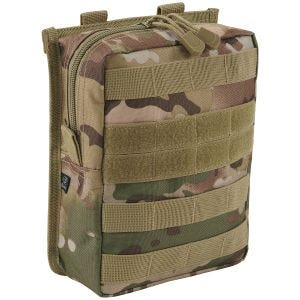 Brandit Cross MOLLE Pouch Tactical Camo