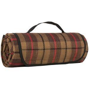Highlander Picnic Blanket Rustic Tweed