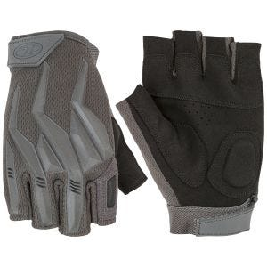 Highlander Raptor Fingerless Gloves Grey