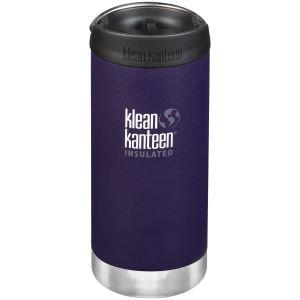 Klean Kanteen TKWide 355ml Insulated Bottle Cafe Cap Kalamata