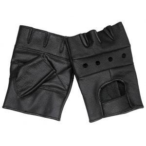 MFH Leather Gloves Deluxe Black
