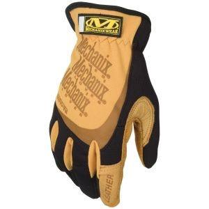 Mechanix Wear FastFit Leather Gloves Brown