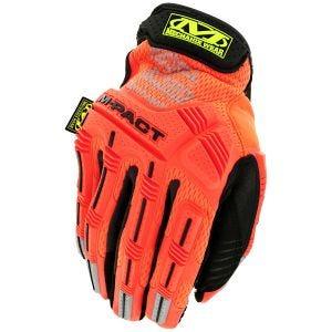 Mechanix Wear M-Pact Hi-Viz Gloves Fluorescent Orange