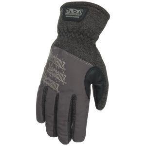 Mechanix Wear Winter Fleece Gloves Grey/Black