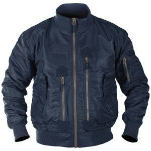 Mil-Tec US Tactical Flight Jacket Dark Blue