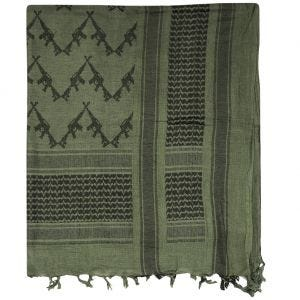 Mil-Tec Shemagh Scarf Rifles Olive / Black