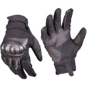 Mil-Tec Tactical Leather Gloves Gen 2 Black