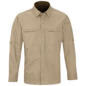 Propper Men's HLX Shirt Long Sleeve Khaki