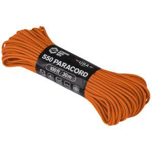 Atwood Rope 100ft 550 Paracord Burnt Orange